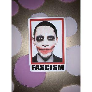 Obama Fascism Sticker